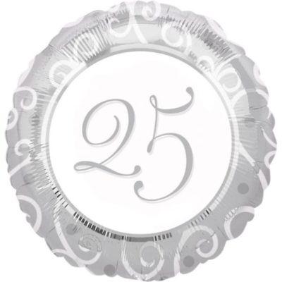 25-goodisnjica-srebrni-pir-folijski-balon-helij-zrak-dekoracija-sveisvasta