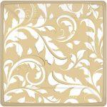 tanjur-kvadratni-zlatni-ornament-list-godisnjica-vjencanje-proslava-sveisvasta