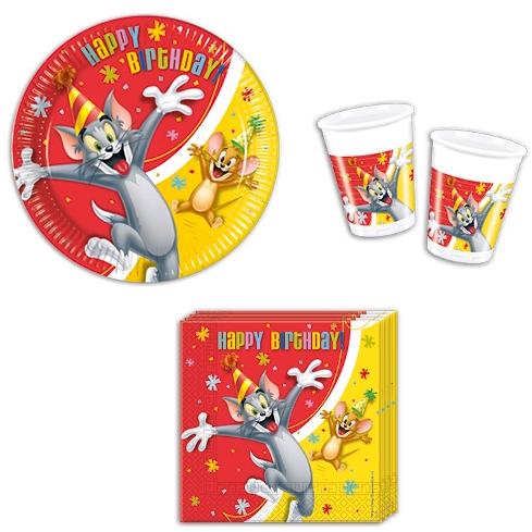 tanjuri za rođendan Tom i Jerry party program   Sve i svašta tanjuri za rođendan