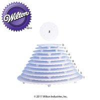 wilton-plastic-plates-20cm-wedding-cakes